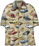 Chevy Chevelle SS Classic Cars Camp Hawaiian Shirt by David Carey (M)