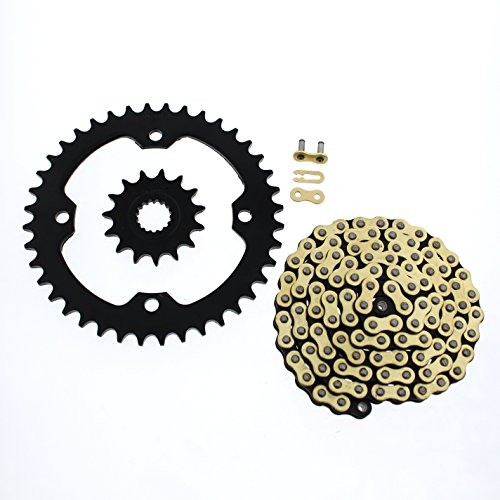 CZ 520-104 Gold MX Chain & Sprocket 15/40 for 2006-2009, used for sale  Delivered anywhere in USA