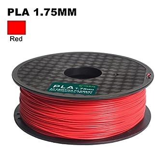 Amazon.com: Siglo Filamento impresora 3d, 1 kg PLA, 1,75 mm ...