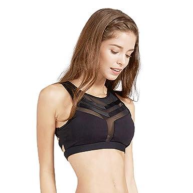 66befa4c41 light   leaf Womens Tank Sports Bra High Impact Support Yoga Tops ...