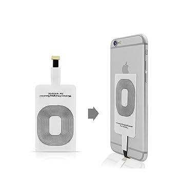 Qi Wireless Charger Receptor de Cargadores Qi para iPhone 6 ...