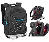 Makita Backpack for Tools and Travel with Small Item Organiser (P-72017)