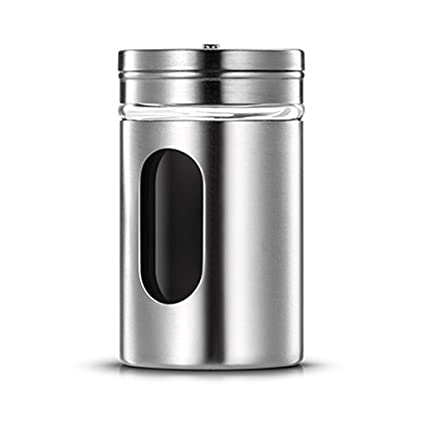 WXH-Caja de condimentos Acero Inoxidable 304 Especias Tarro ...