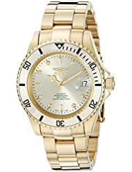 Invicta Mens 18508 Pro Diver Analog Display Swiss Automatic Gold Watch