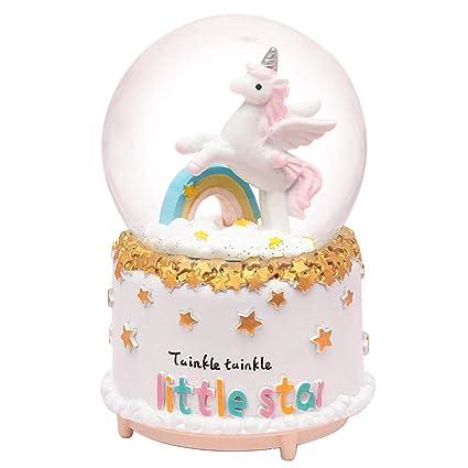 Amazon.com: HIKEL Lovely Music Box - Globos de nieve con ...