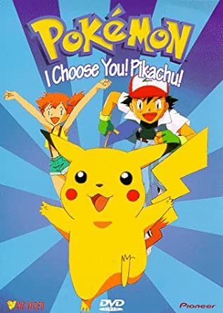 Pokemon i choose you pikachu vol 1