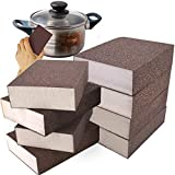 8 Pack Sanding Sponge,Washable and Reusable Sanding Block for Kitchen Cleaning,Woodworking Polishing