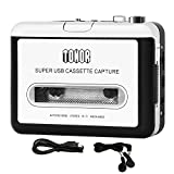 TONOR Portable Cassette to MP3 Converter Capture Type-to-Mp3 Cassette Player