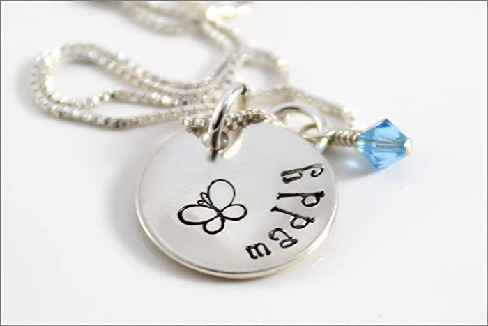 c942782c34aa9 Amazon.com: Little Girls Necklace | Personalized Name Necklace with ...