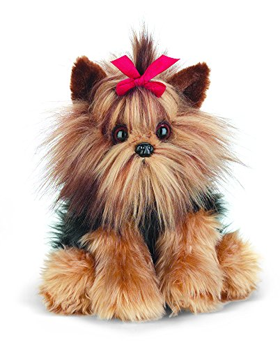 Bearington Chewie Yorkshire Terrier Stuffed Animal Toy Dog 13""
