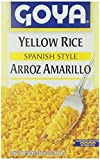 Goya Rice Mix Yellow 8 Oz Pack of 6