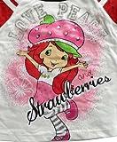 Strawberry Shortcake Girls Love Peace Short Sleeve T-Shirt