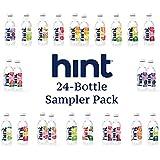Hint Water & Hint Kick Sampler Pack (Pack of 24) - 19 Flavors Zero Sugar Zero Calories Zero Sweeteners Zero Preservatives Zero Artificial Flavor