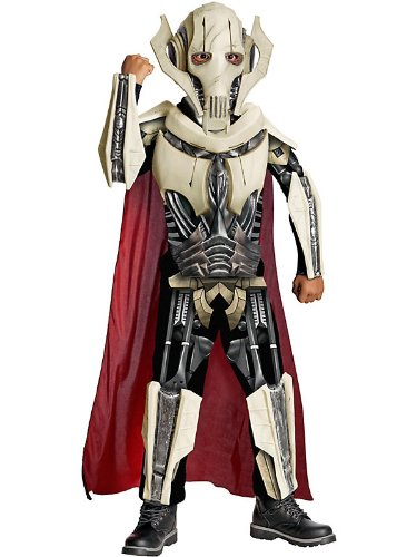 [Deluxe Star Wars General Grievous Boys Costume - Costume Ideas] (Star Wars General Grievous Child Costumes)