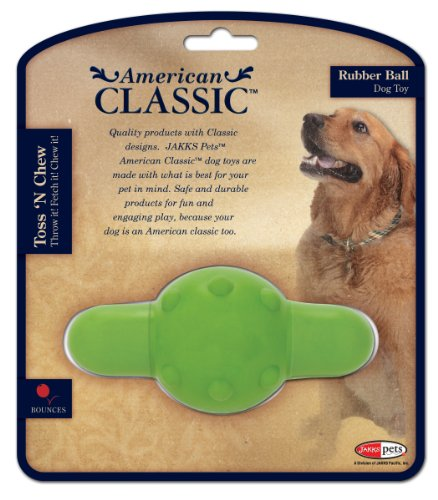 American Classic Rubber Ball, Green For Sale