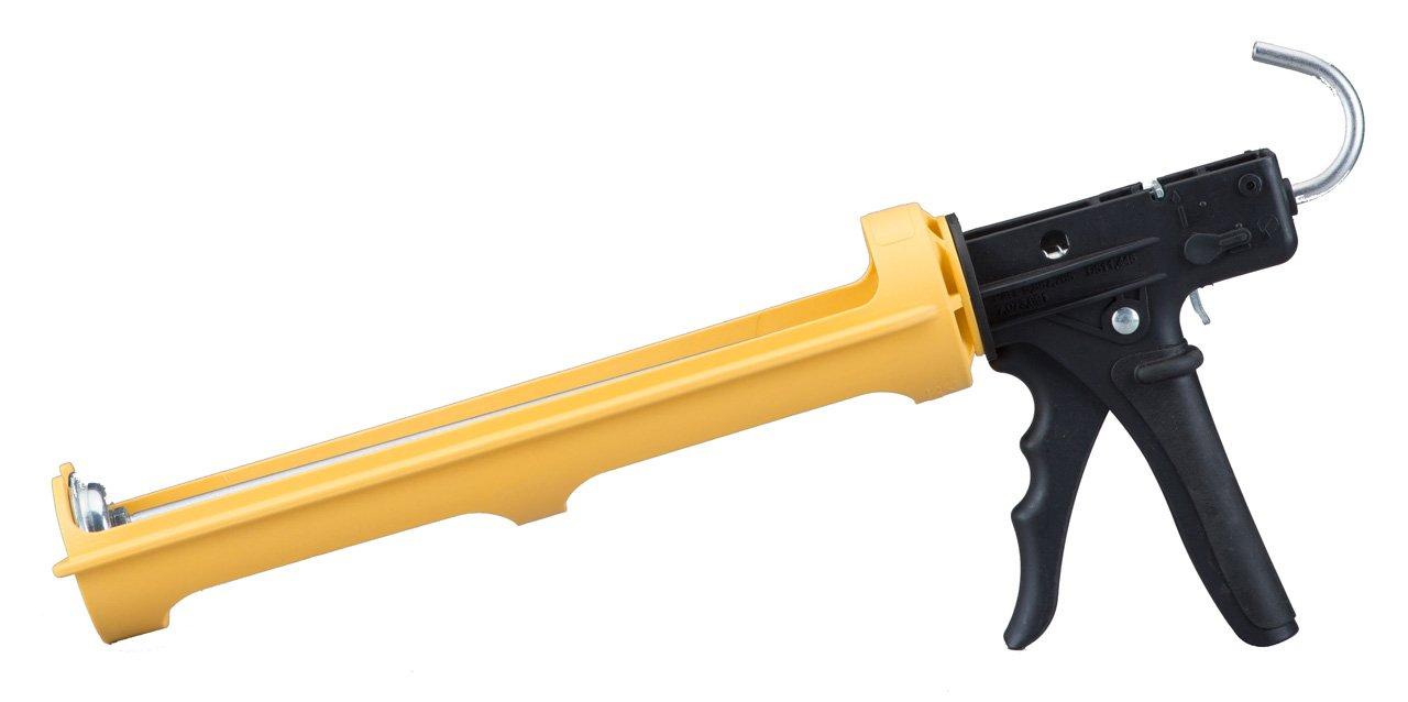 Dripless ETS5000 Industrial Grade Heavy Duty Caulking Gun, 1/4-gal. Cartridge Capacity, 18:1 Thrust Ratio