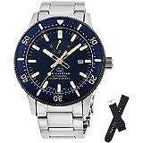 [オリエント時計] 腕時計 オリエントスター スポーツ ダイバー SPORTS Diver 200m防水本格ダイバーモデル(ISO準拠) シリコンバンド付 500本 パワーリザーブ50時間搭載 RK-AU0304L メンズ シルバー