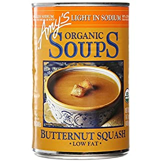 Low Sodium Organic Butternut Squash Soup by Amy's Kitchen, 14.1 oz (3)