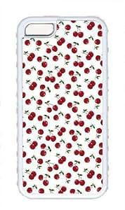 Cute Little Cherry Pattern Theme Iphone 5C Case