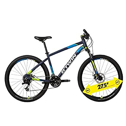 d6c177285 Buy Btwin Rockrider 520 Mtb Cycle Blue Online at Low Prices in India ...