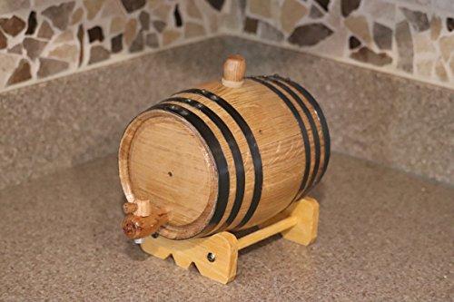 1-Liter American White Oak Barrel Whiskey Kit by Deep South Barrels (Image #1)