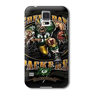 S5 Case, NFL - Green Bay Packers Running Back - Samsung Galaxy S5 Case - High Quality PC Case