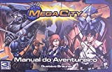 capa de Mega City. Manual do Aventureiro