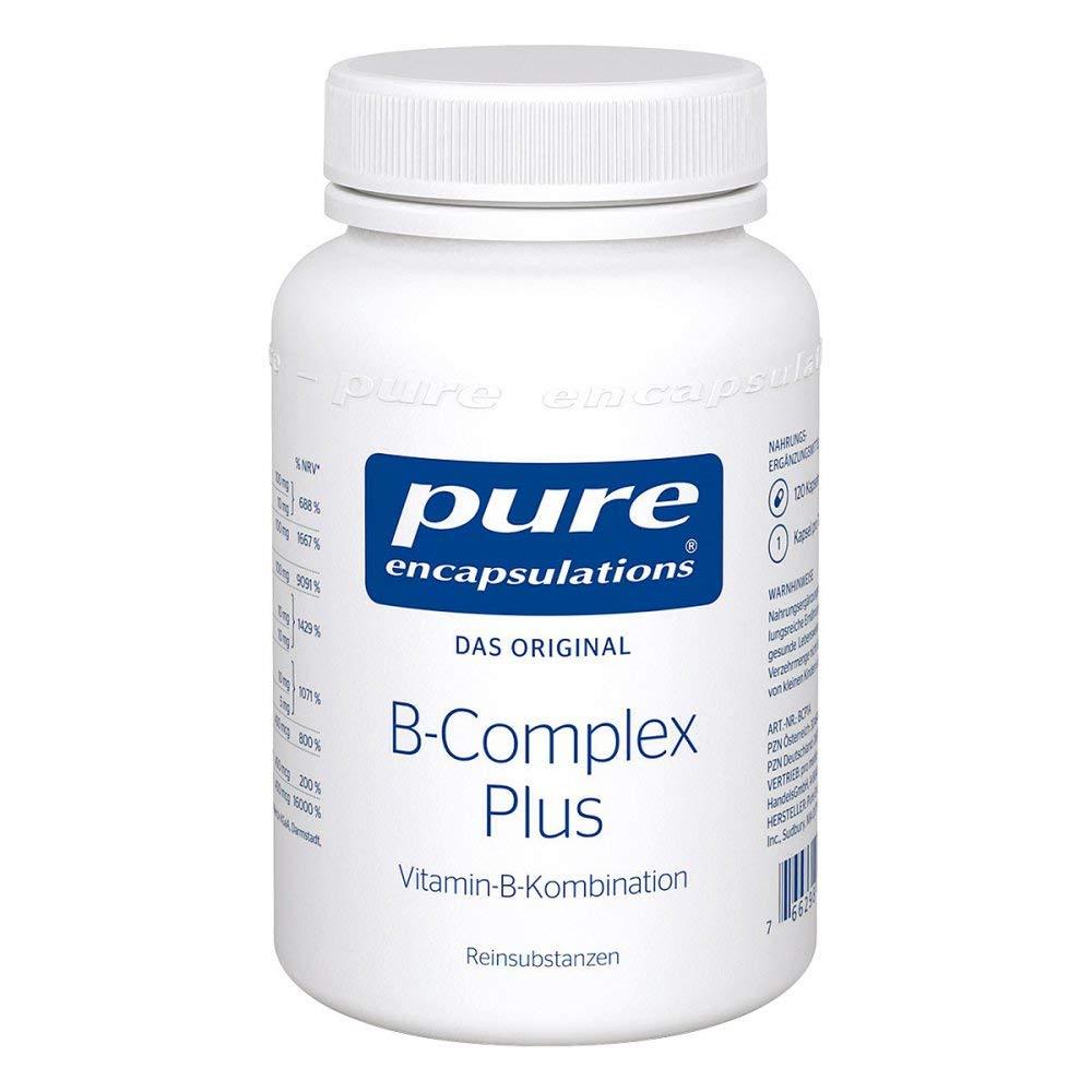 pure encapsulations B-Complex Plus Kapseln, 120 pcs. Capsules
