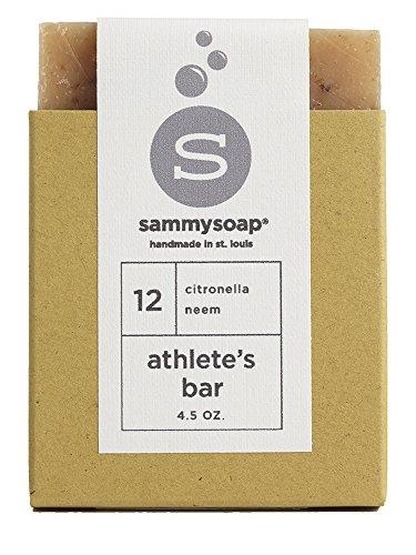 sammysoap All Natural Soap Athlete's Bar
