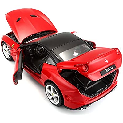 Bburago 1:18 Scale Ferrari Race and PlayCalifornia T (Closed top) Diecast Vehicle (Colors May Vary): Bburago: Toys & Games