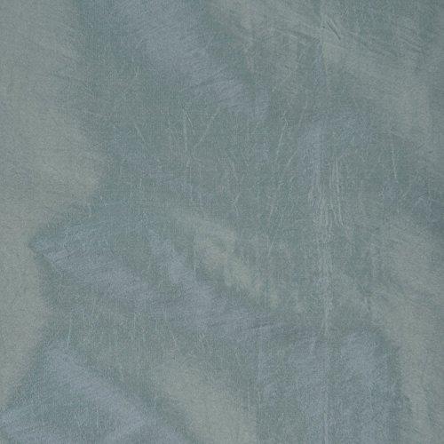 Half Price Drapes PTCH-BO5-96 Blackout Faux Silk Taffeta Curtain, Robin's Egg by HPD Half Price Drapes (Image #5)