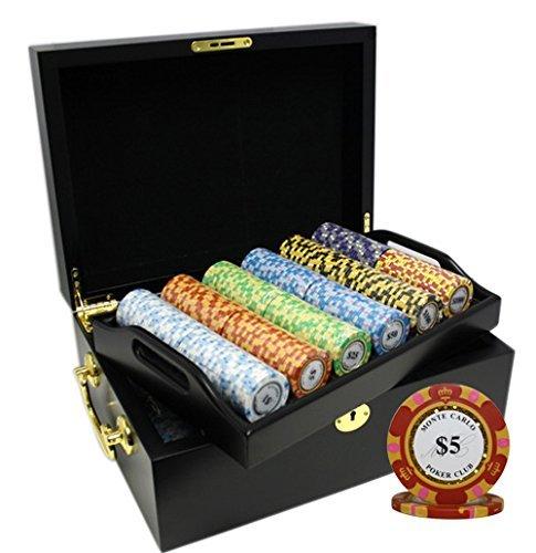 【代引き不可】 MRC 500枚入りMonte B078S5TTCY MRC Carlo Poker Clubポーカーチップセットwith木製ケースカスタム構築 [並行輸入品] [並行輸入品] B078S5TTCY, 九州うまいもん屋 芋蔵:28dd7c0d --- arianechie.dominiotemporario.com
