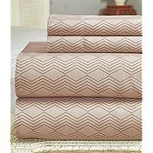 Bamboo Comfort Plus 2400 Series Sheet set (Tan, King)