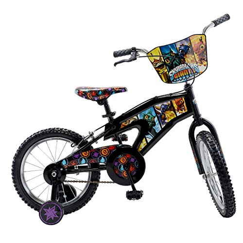 Skylanders Kid's Bike, 16 inch Wheels, 11 inch Frame, Boy's Bike, Black