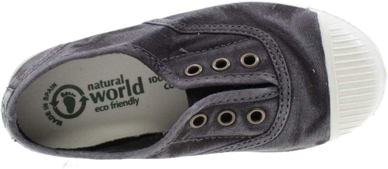 Natural World 470E Chaussures en tissu naturel et caoutchouc