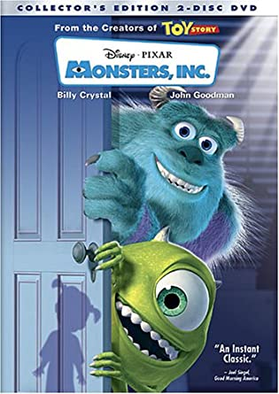 Amazon com: Monsters, Inc  (Two-Disc Collector's Edition