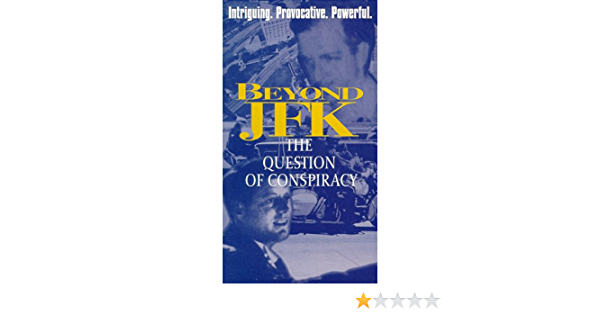 Beyond JFK: The Question of Conspiracy [USA] [VHS]: Amazon ...