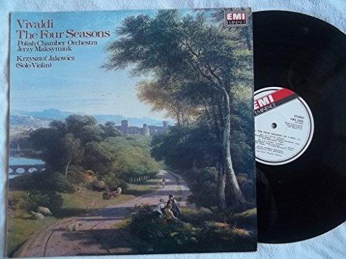 EMX 2009 Vivaldi Four Seasons Polish Chamber Orchestra Jerzy Maksymiuk LP