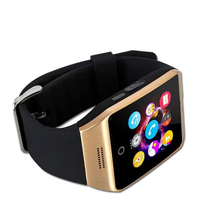 Montre Connectée Compatible avec Samsung Galaxy S9, CEKA TECH® Montres Connectée Bluetooth, Smart Watch, avec Caméra, Écran Incurvé Tactile, Support SIM/TF ...