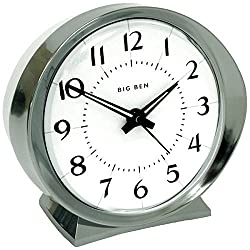 WESTCLOX 10611QA Battery-Powered Big Ben Alarm Clock