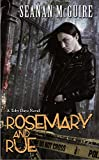 Rosemary and Rue by Seanan McGuire front cover