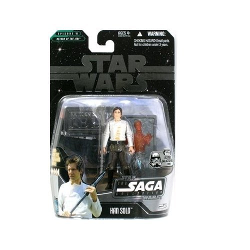 Star Wars: The Saga Collection Ultimate Galactic Hunt Han Solo in Carbonite (#2) Action Figure