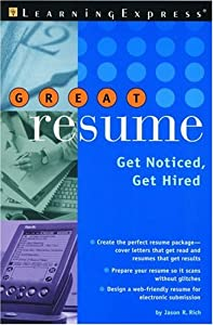 Great Resume!: Stand Out from the Crowd (You're Hired! (Learning Express)) LearningExpress Editors