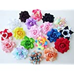 50-pcs-Assorted-Roses-Silk-Flower-Head-10-Colors-Size-175-Artificial-Flowers-Heads-Fabric-Floral-Supplies-Wholesale-Lot-for-Wedding-Flowers-Accessories-Make-Bridal-Hair-Clips-Headbands-Dress