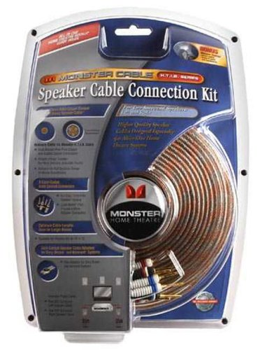 Monster Cable Home-Theater-in-a-Box 50-Foot Rear Speaker Cables (2-Pack) by Monster