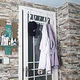 Dseap Over The Door Hook Hanger - 5 Tri