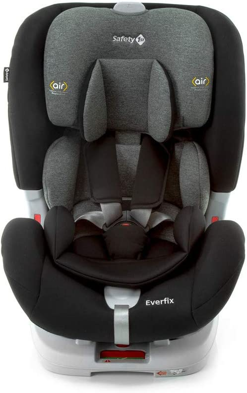 Cadeirinha com Isofix Everfix 0 a 25kg Safety 1st, Foggy Black