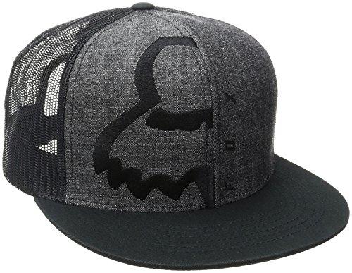 Fox Men's Eyecon Box Snapback, Black, One Size (Fox Hat Snapback)