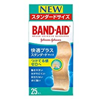 BAND-AID(バンドエイド) 快適プラス スタンダード 25枚