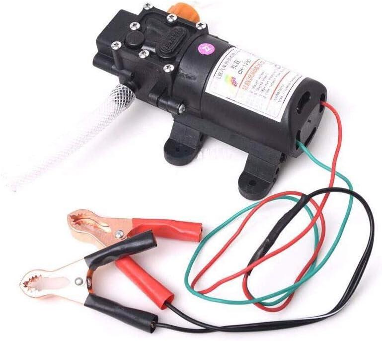 KPfaster DC12V Oil Fluid Scavenge Suction Vacuum for Car Transfer Pump Extractor 5L//min